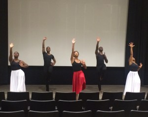 ASU dancers at the closing ceremony of the Symposium last week.