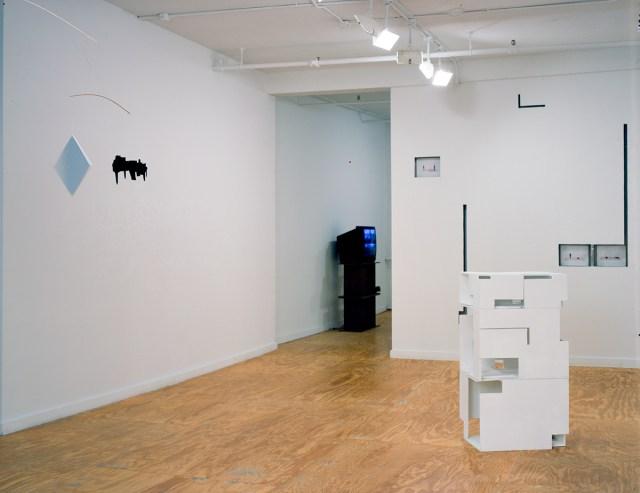 Weak Architecture, installation view.