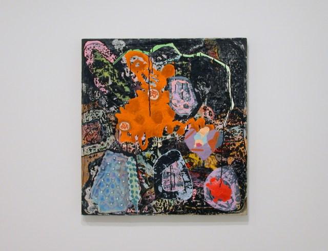 Thor Eric Paul, MIR, 2002. Mixed media on canvas.