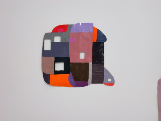 Ruth Root, 2 works, each: Untitled, 2002. Oil on paper.