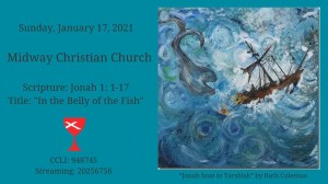 Sermon banner, January 17, 2021