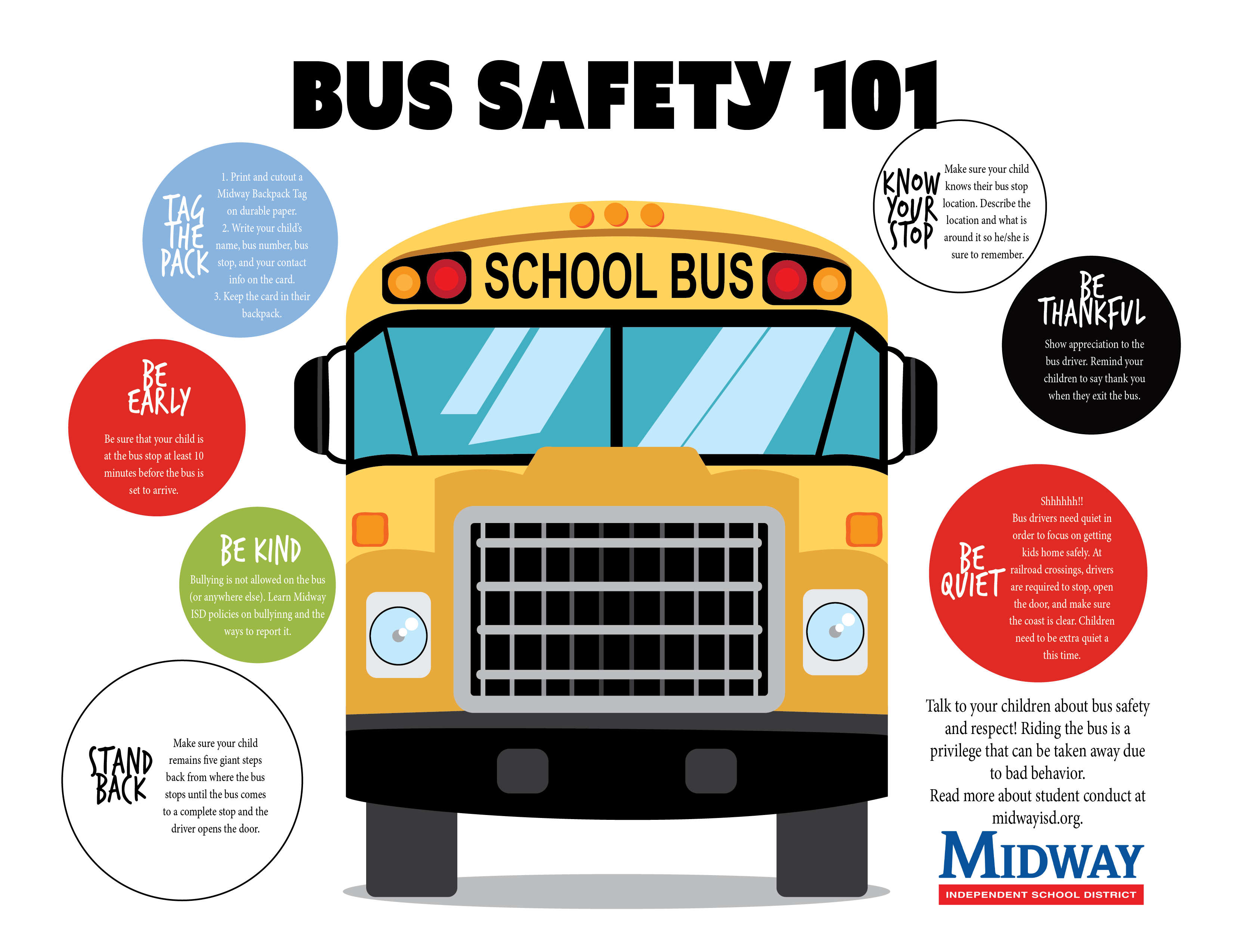 Midway Programs Bus Safety