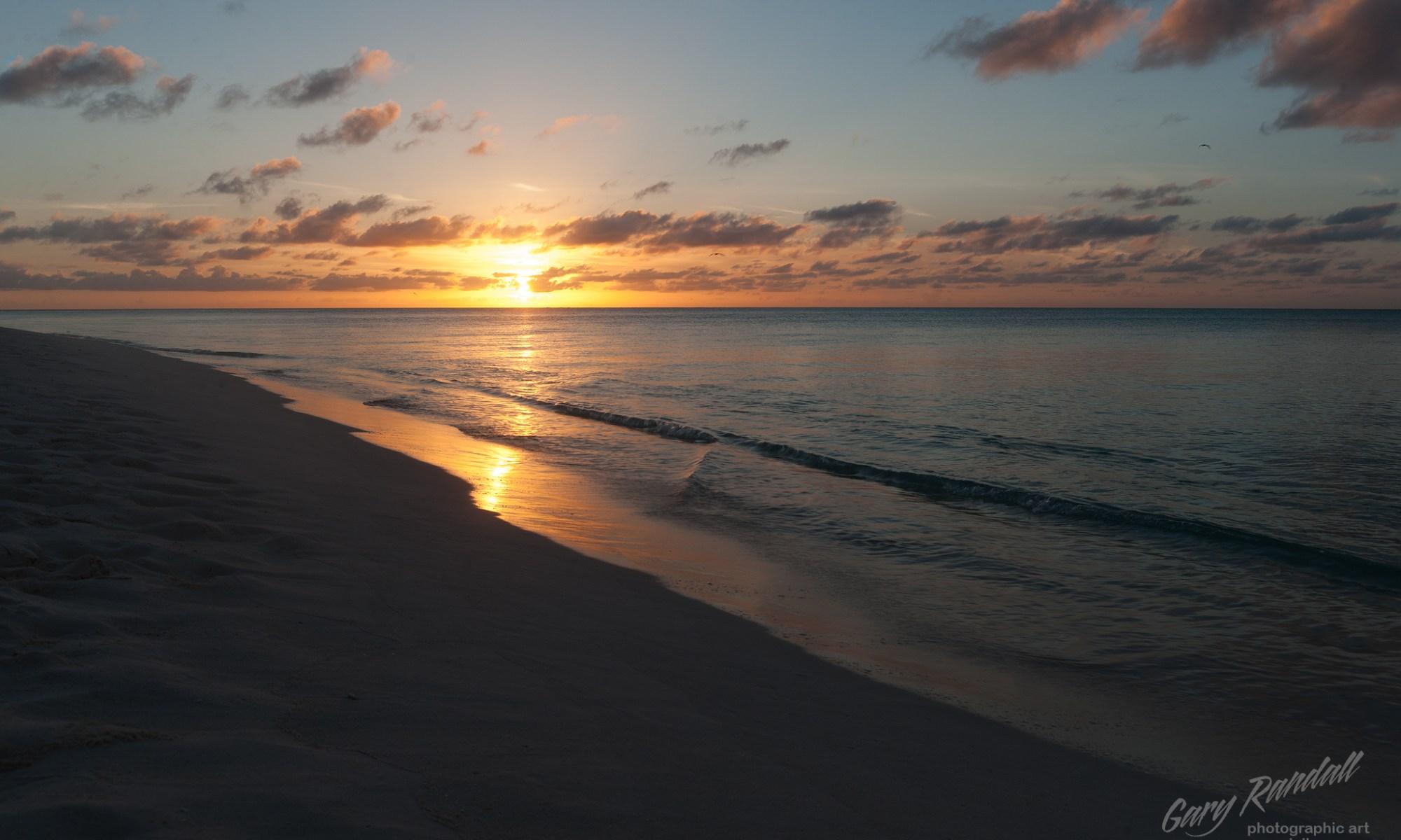 Midway Island Sunset