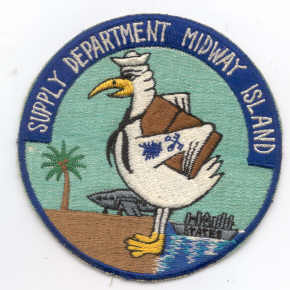 Supply Department Midway Island Patch