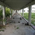 Breezeway to The Midway Island Chow Hall