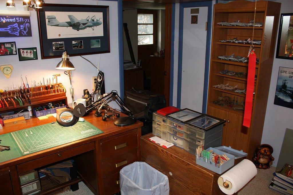 Workbench Amp Hobby Room