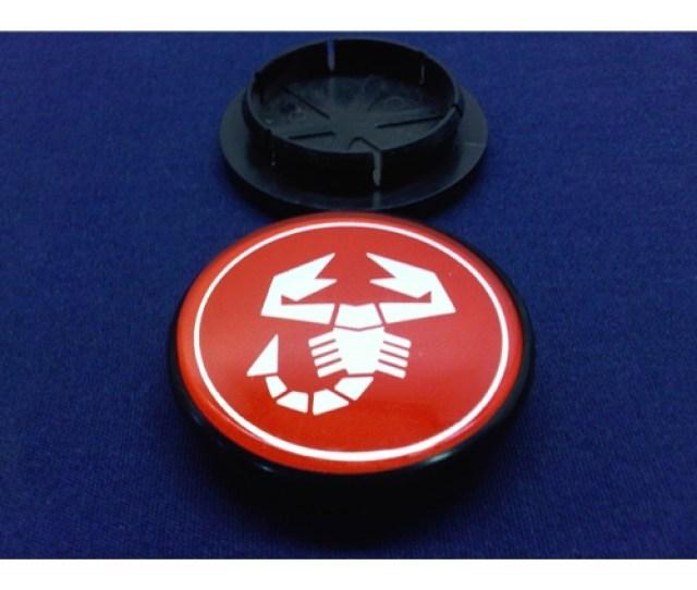 Alloy Wheel Center Cap Abarth Scorpion Cd  New