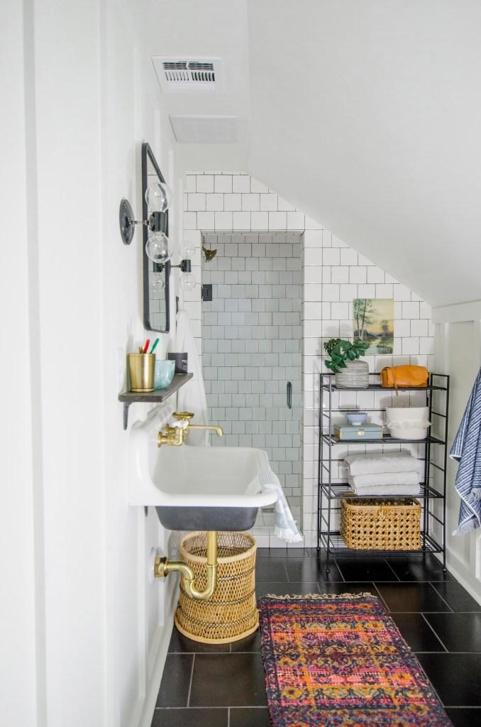 The Attic Bathroom Remodel