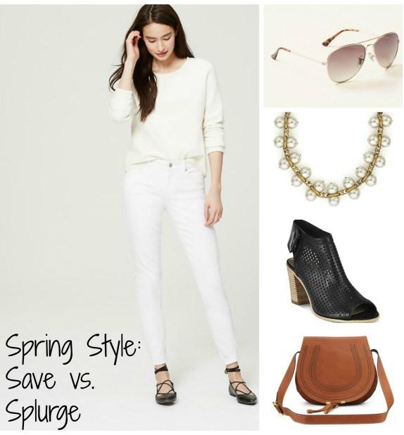 Save vs Splurge Collage