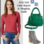 Fall 2016 Pantone Fashion Color Report and Shopping Guide