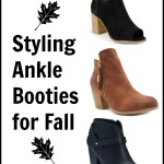 Styling Ankle Booties for Fall