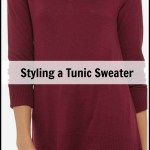 Fall Capsule Wardrobe: Styling a Tunic Sweater