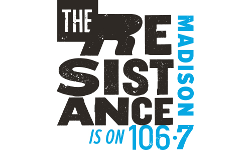 The Resistance 106.7 logo