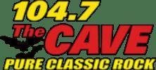 1047 The Cave Pure Classic Rock Radio Station Springfield Missouri logo
