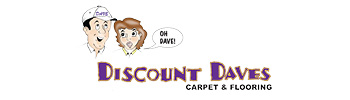 Mid-West Family Springfield MO's client Discount Daves Carpet and Flooring logo