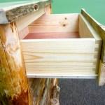 Log Furniture Dovetail Drawers Midwest Log Furniture