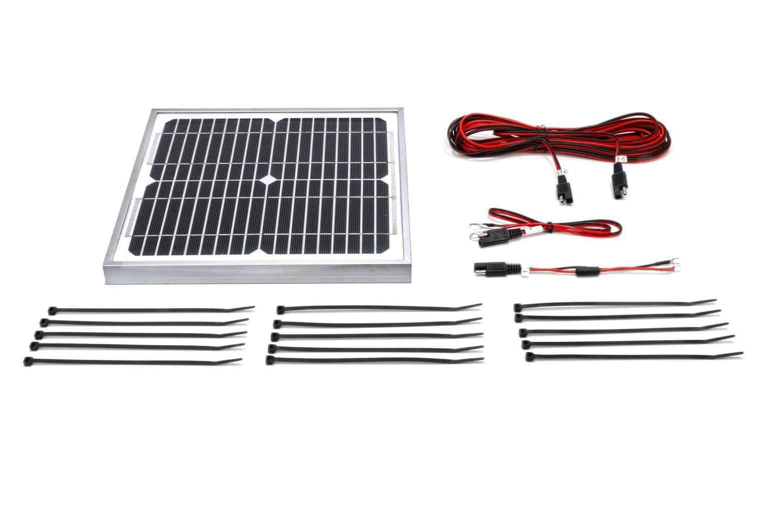 10 Watt 12 Volt Boat Lift Solar Charging Kit Midwest