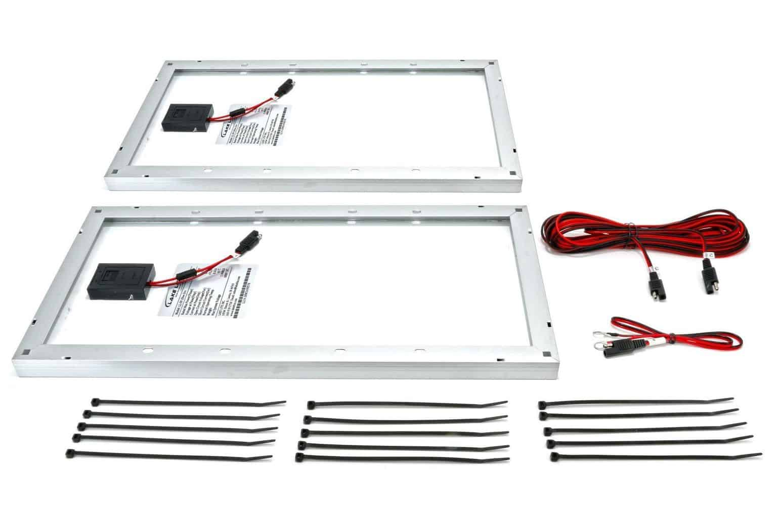 40 Watt 24 Volt Boat Lift Solar Charging Kit Midwest