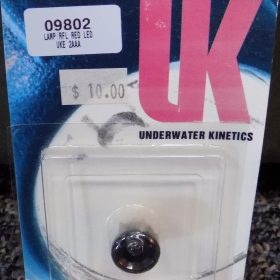 Underwater Kinetics Replacement Lamp Red LED 2AAA  09802