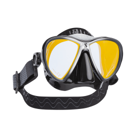 Scubapro Synergy 2 Twin Trufit Dive Mask with Comfort Strap