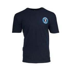 SCUBAPRO Midnight Navy Crew T-Shirt, Men