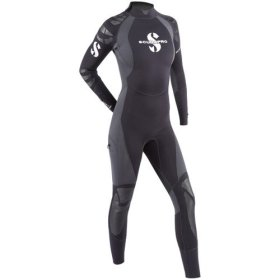SCUBAPRO EVERFLEX 3/2 MM WETSUIT GREY XL – WOMEN'S CLOSEOUT SPECIAL!
