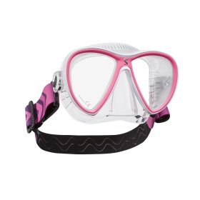 Scuba Synergy Twin Dive Mask with Comfort Strap