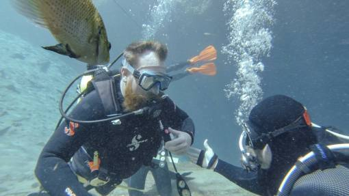 open water training dives