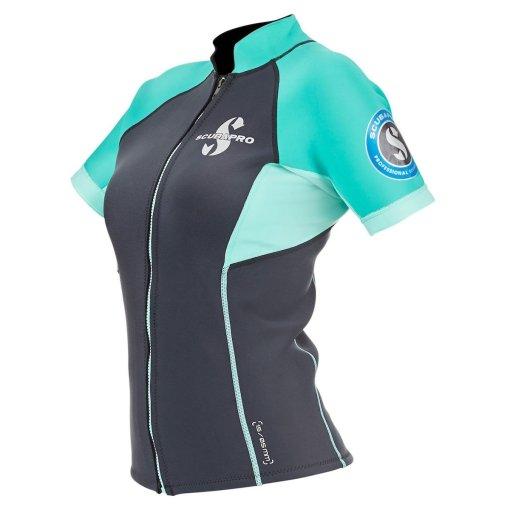 Scubapro everflex 1.5 short sleeve top women back