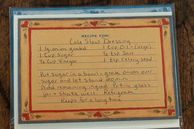 OG Mom bomb.com coleslaw dressing