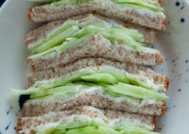 Jalapeno Cucumber Sandwich