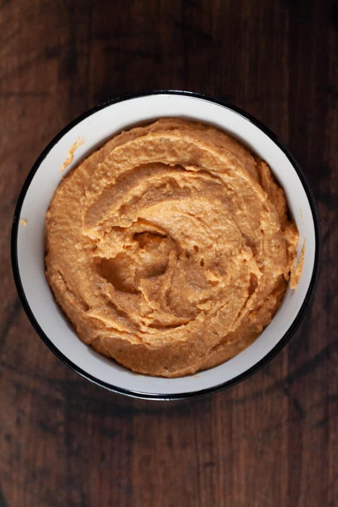 Buffalo Ranch Hummus