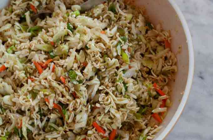 Jalapeno Top Ramen Salad