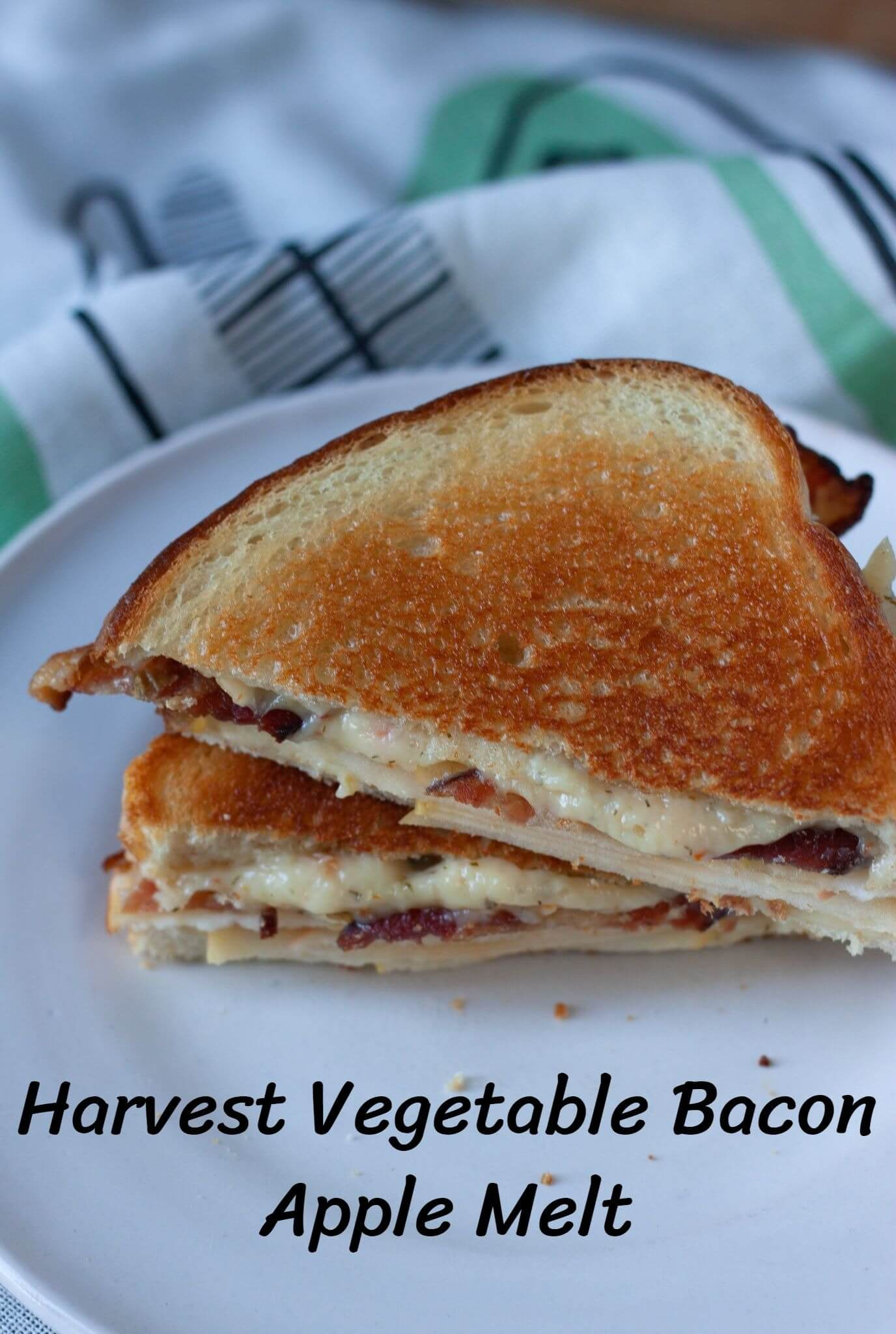 Harvest Vegetable Bacon Apple Melt
