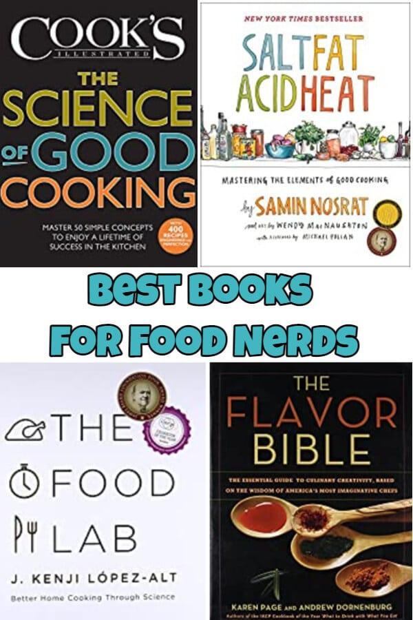 Best Books for Food Nerds