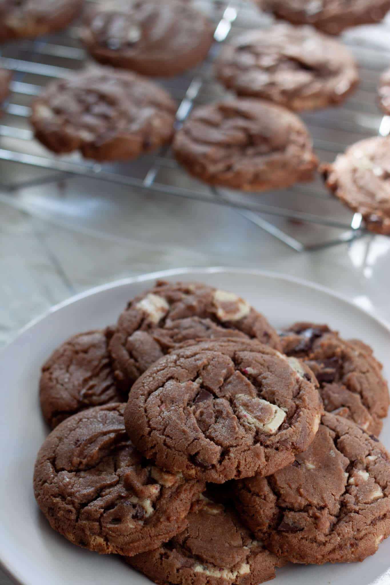 Ghirardelli Hot Chocolate Cookies