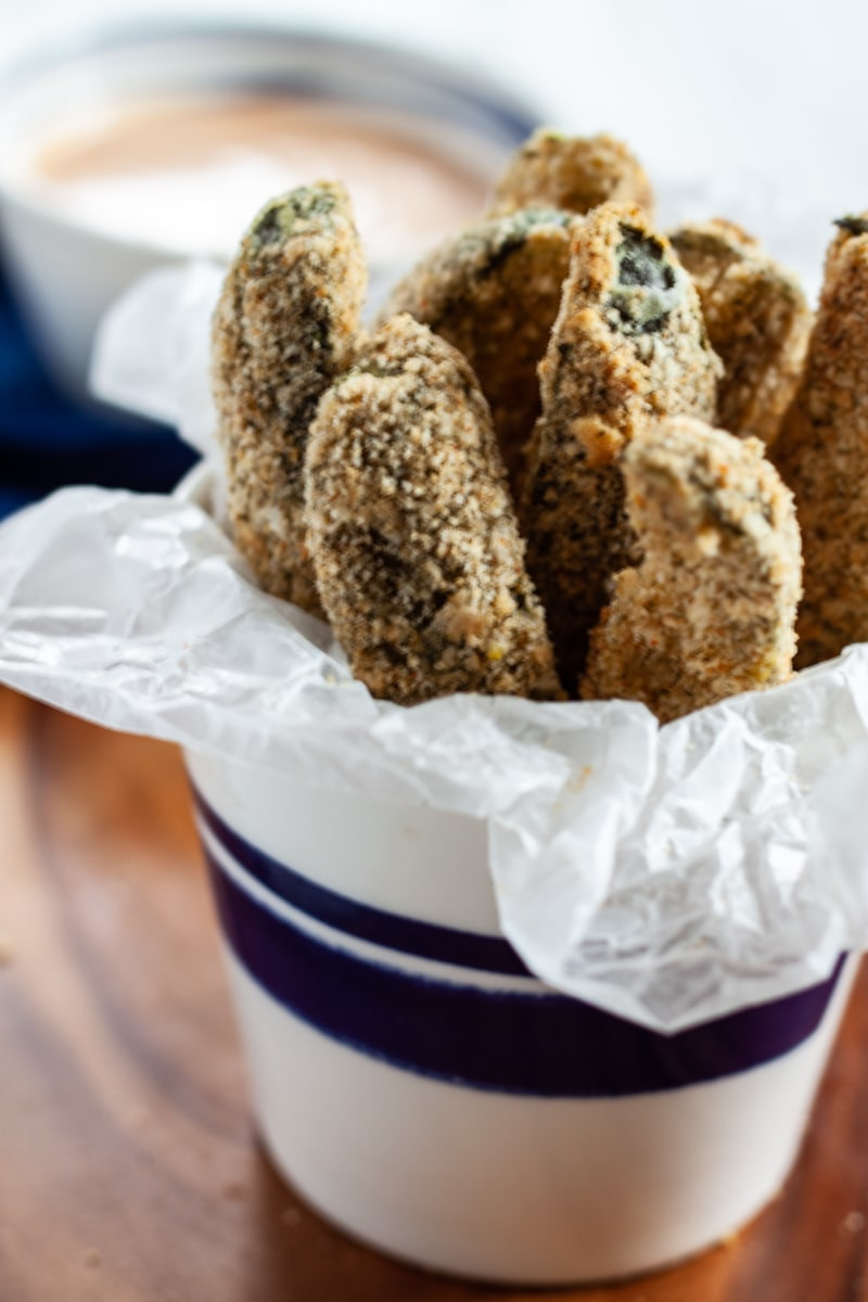 Air Fryer Pickle Spears
