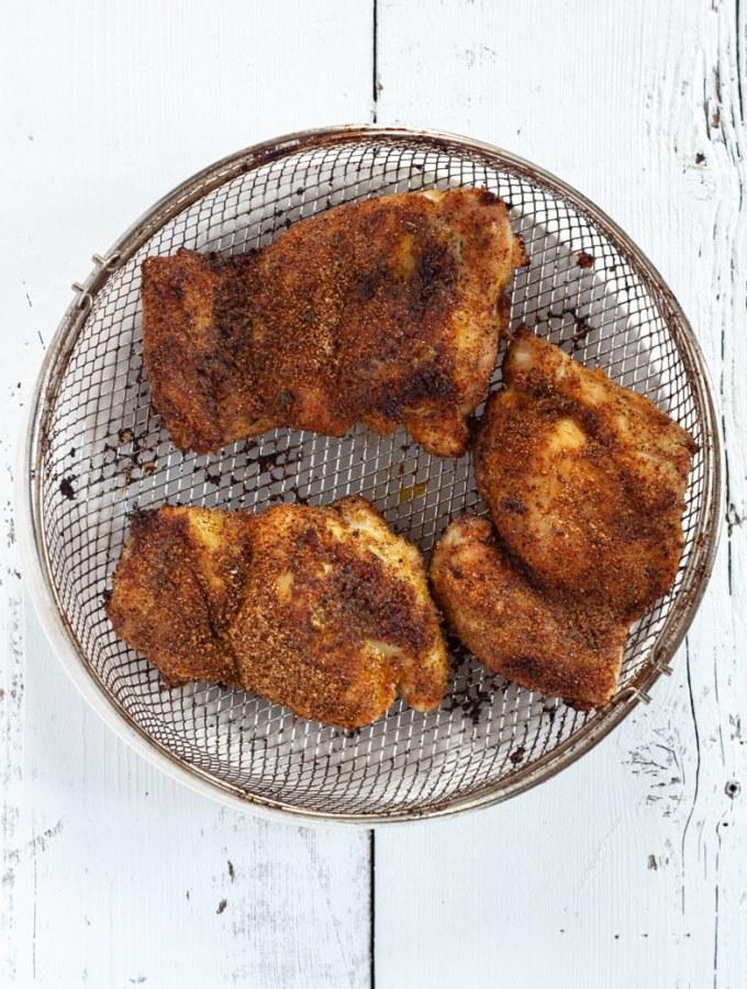 Air Fryer Adobo Chicken