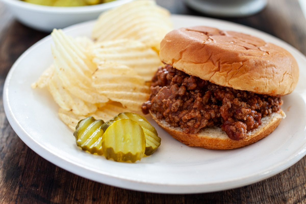 Smoky Sloppy Joes