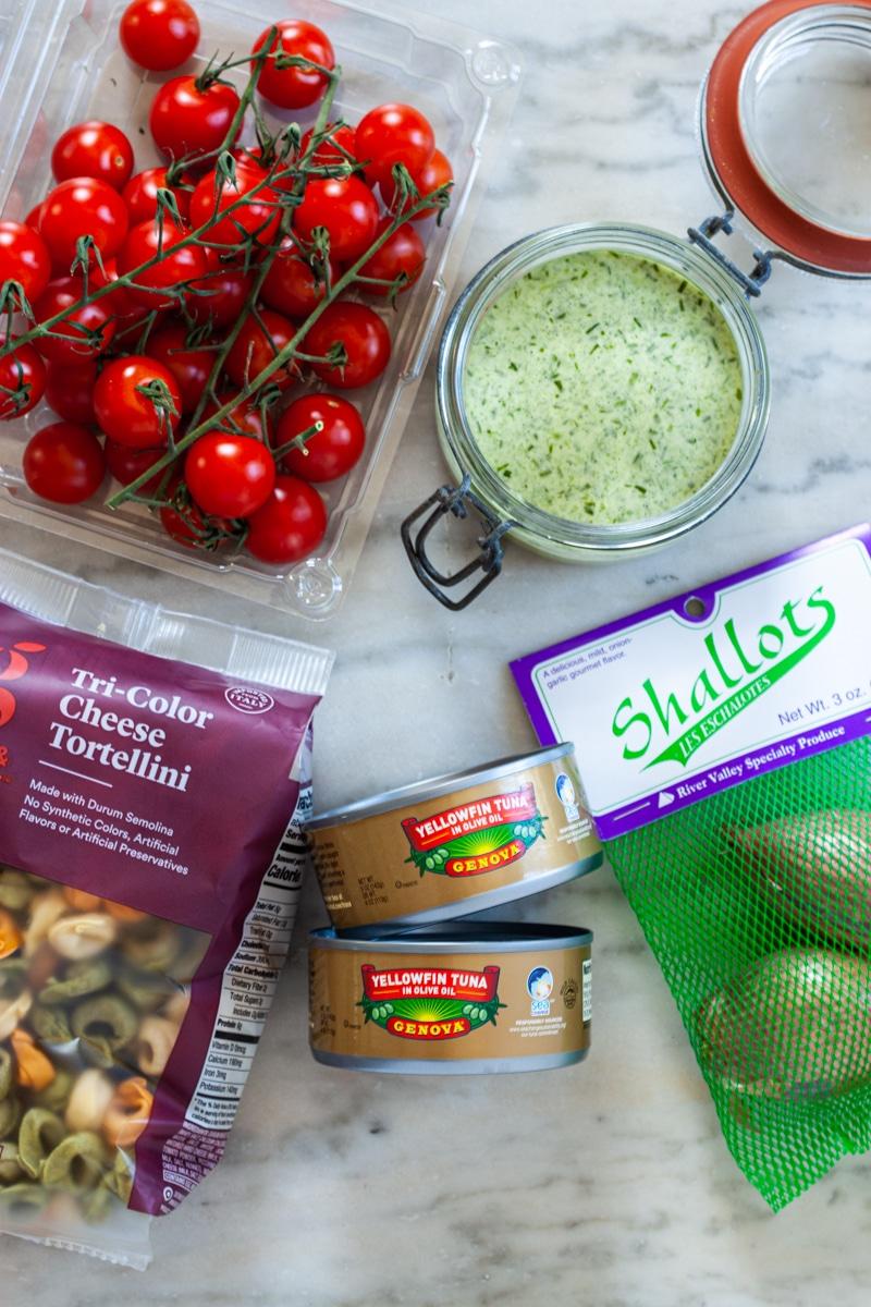 Tuna Tortellini Salad Recipe