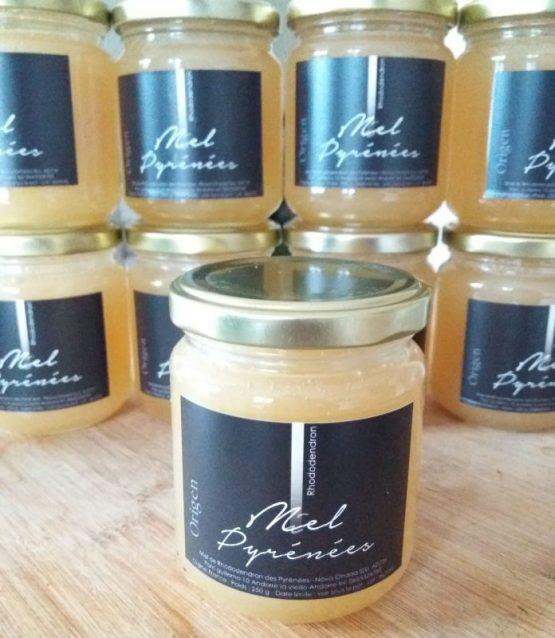 miel de rhododendron, miel de montagne, miel rare, miel des pyrénées