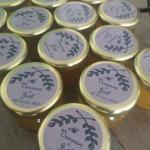 cadeaux mariage, cadeau de mariage, étiquettes personnalisées pour pots de miel