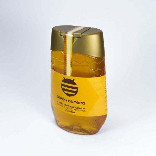 bote dosificador antigoteo miel natural pura abeja obrera españa 500g