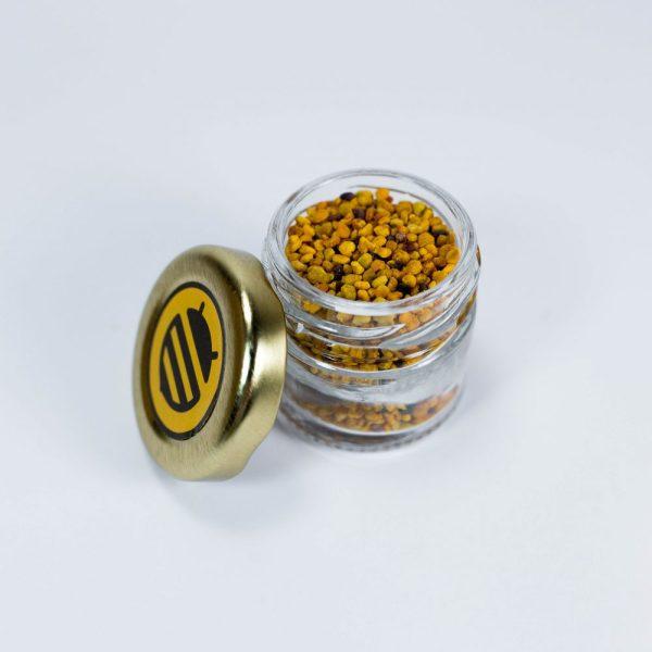 bote minidosis pequeño regalo boda polen abeja obrera natural puro artesano