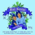 Miel Boréal de Bleuet 250g