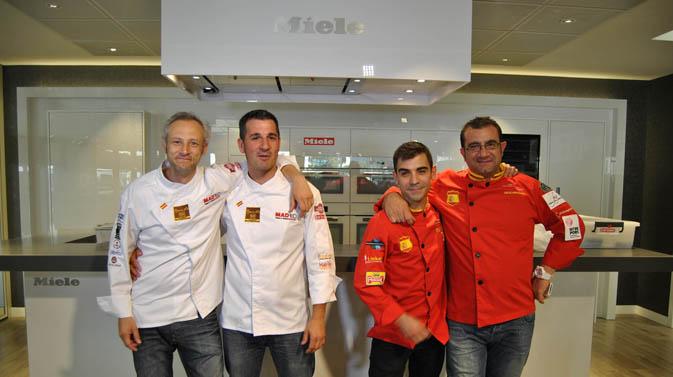 Duelo de chefs con La Roja en Miele Center
