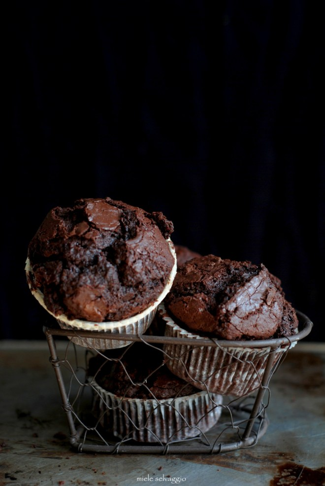 double chocolate muffins 6