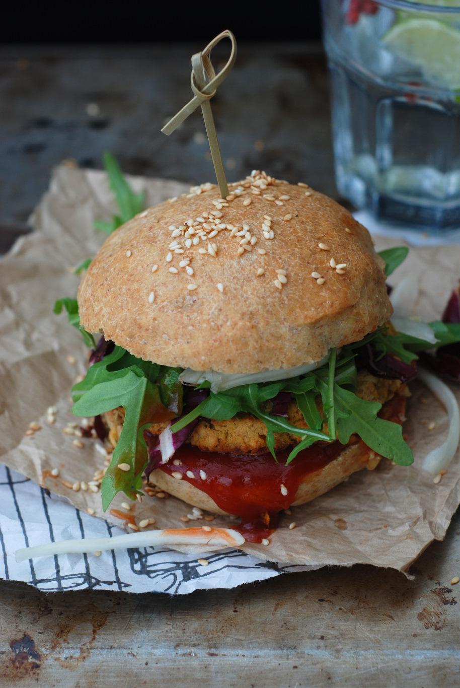 veggie burger 3