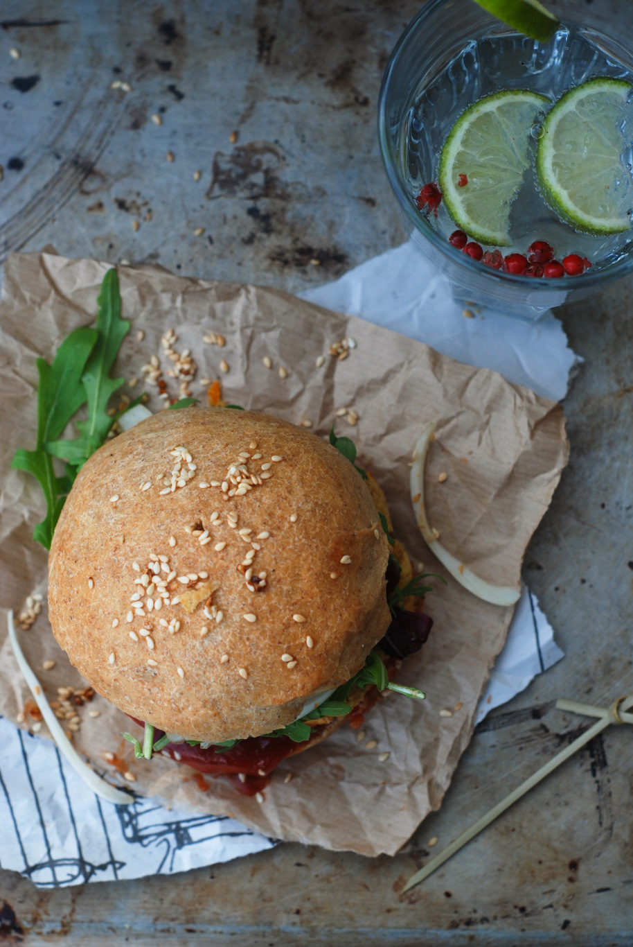veggie burger 5