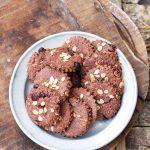 Cap. 6- Biscotti vegan al cacao, avena e mirtilli rossi